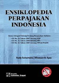 """Sampul Buku """"Ensiklopedia Perpajakan Indonesia""""."""